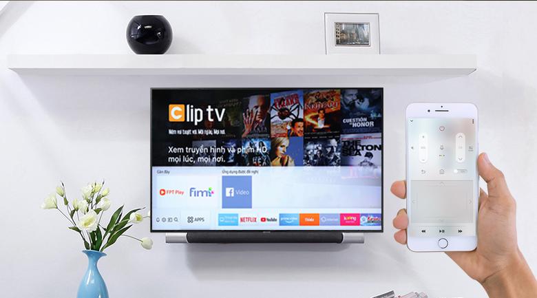 điều khiển tivi samsung dễ dàng qua ứng dụng smartthing