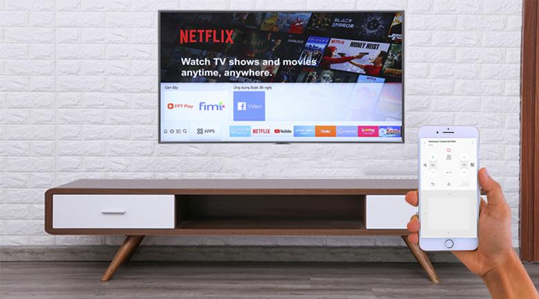 điều khiển tivi dễ dàng thuận tiện với chiếc điện thoại