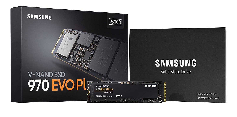 Ổcứng SSD Samsung 970 EVO PLUS 250GB NVMe M.2 (MZ-V7S250BW)_6
