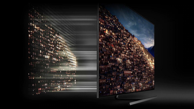 công nghệ đèn nềnDirect Full Array 8X tạo ra hình ảnh sắc nét