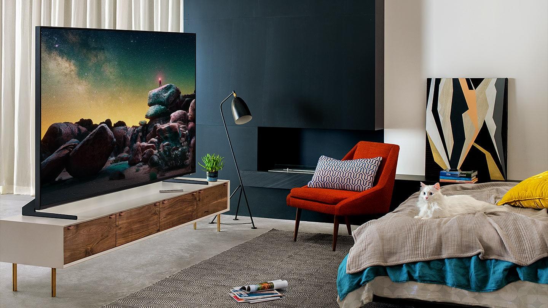 Smart Tivi QLED Samsung 8K 65 inch QA65Q900RBKXXV kiểu dáng đẹp mắt, hoàn hảo