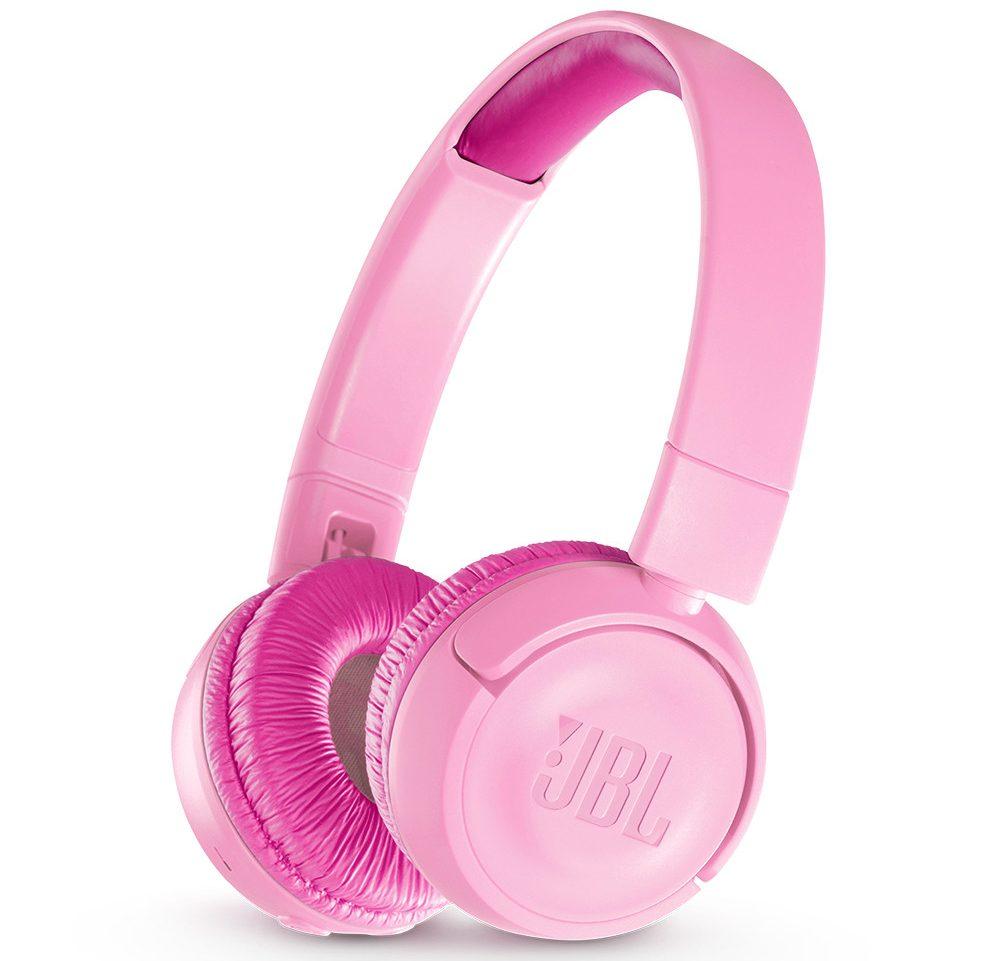 Tai nghe JBL JR 300 BT (Pink) thiết kế đẹp mắt, chất lượng âm thanh tốt