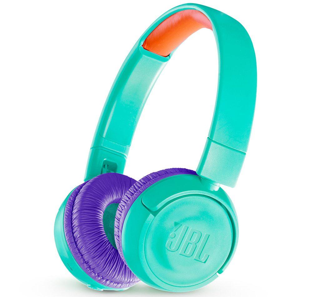 Tai nghe JBL JR 300 BT (Teal) thiết kế đẹp mắt, chất lượng âm thanh tuyệt vời