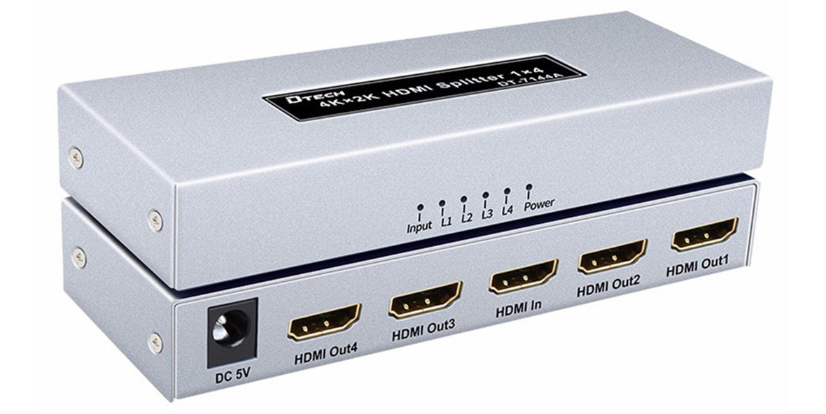 Thiết bị chuyển Multi HDMI 1-4 4K Dtech (DT-7144A) đem tới nhiều tính năng hình ảnh sắc nét