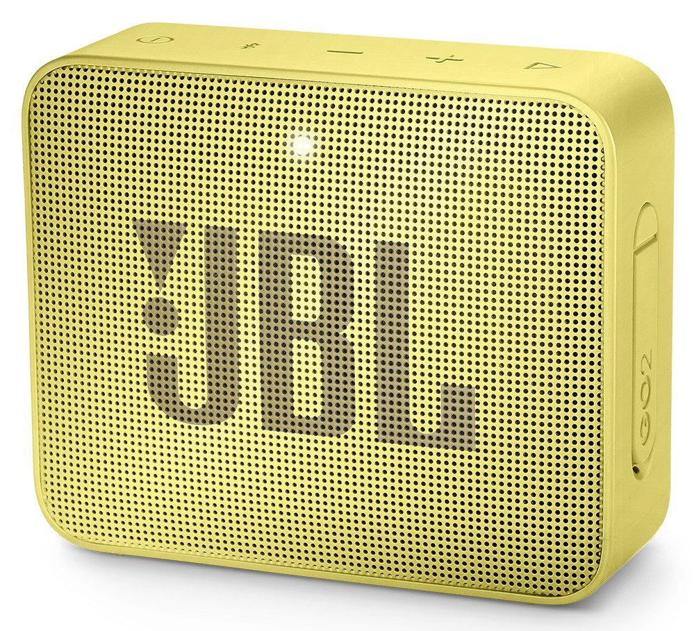 Loa Bluetooth JBL Go 2 (Yellow) thiết kế nhỏ gọn dễ dàng cho ngưởi sử dụng đem đi du lịch