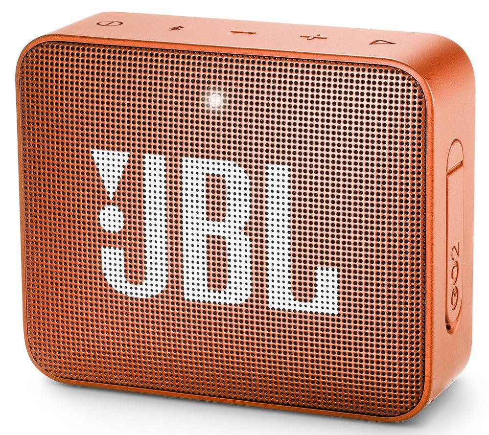 Loa Bluetooth JBL Go 2 (Orange) thiết kế đẹp mắt sang trọng