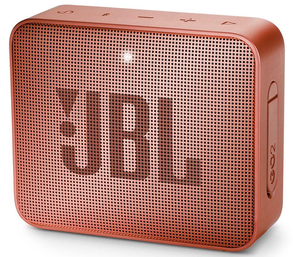 Loa Bluetooth JBL Go 2 (Cinnamon) thiết kế đẹp mắt đem trải nghiệm âm thanh hoàn hảo tới người nghe