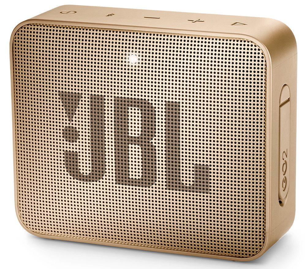 Loa Bluetooth JBL Go 2 (Champagne) thiết kế đẹp mắt sang trọng