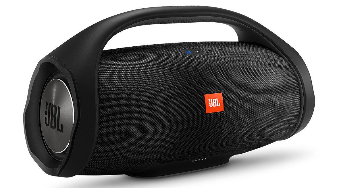 Loa Bluetooth JBL Boombox (Black) thiết kế đẹp mắt , âm thanh sống động