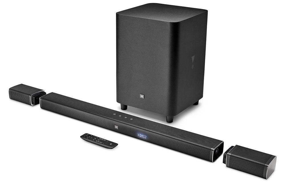 Loa Bluetooth JBL Bar 5.1 (Black) thiết kế đẹp mắt phù hợp với mọi không gian