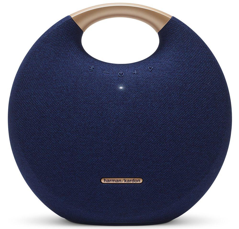 Loa Bluetooth Harman/Kardon Onyx Studio 5 (Blue) thiết kế sang trọng âm thanh sống động
