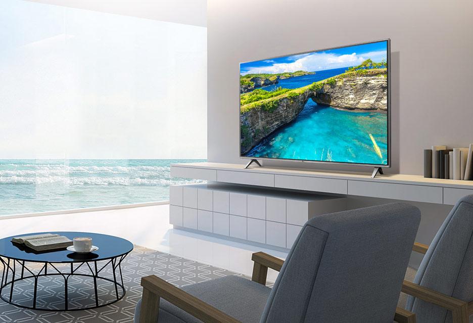 Smart Tivi LG 4K 50 inch 50UK6300 tinh tế trong kiểu dáng