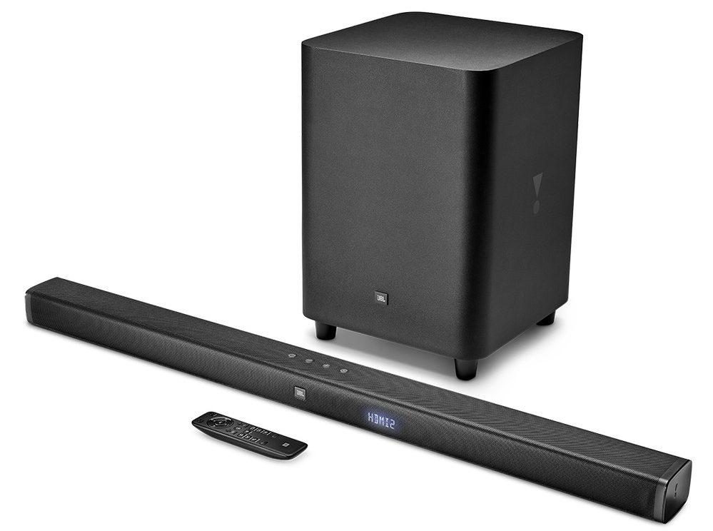Loa Bluetooth JBL Bar 3.1 (Black) đem tới âm thanh tuyệt hảo