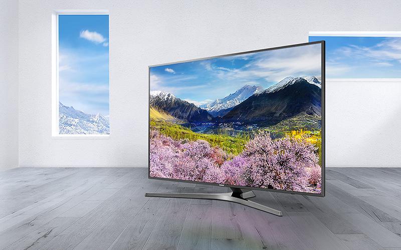 Smart Tivi Samsung 4K 49 inch 49MU6400 đem tới hình ảnh đẹp sắc nét