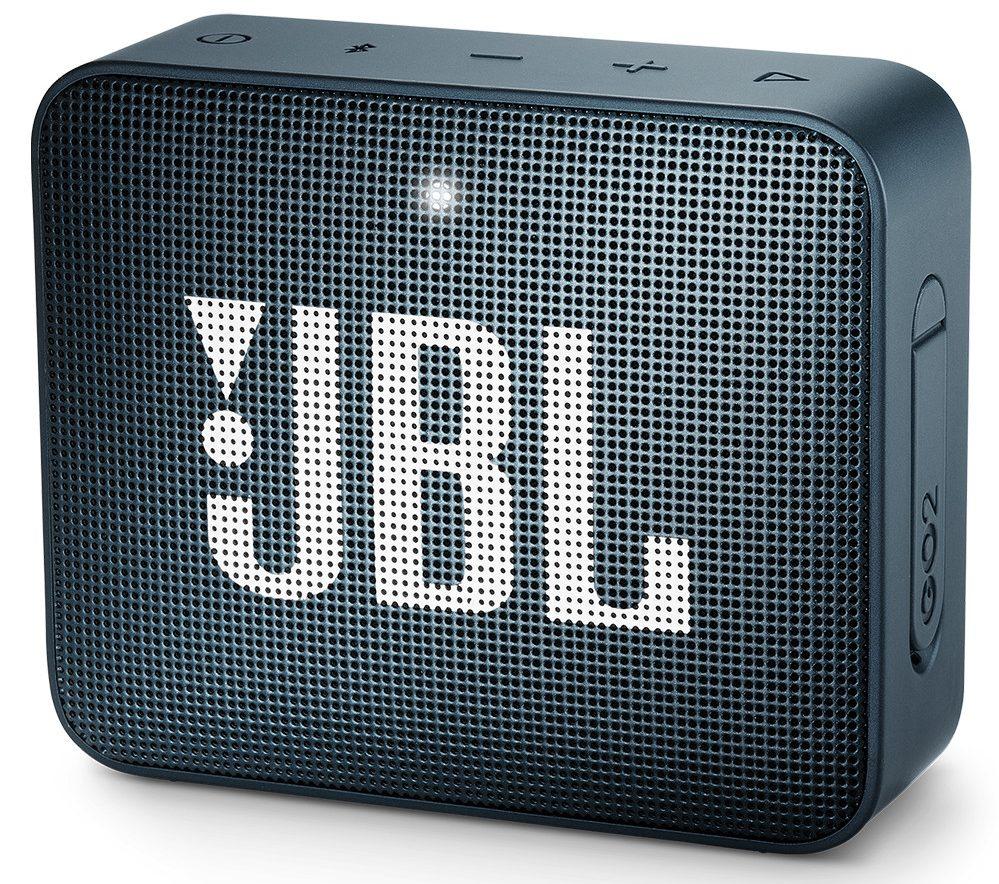 Loa Bluetooth JBL Go 2 (Navy) thiết kế tinh tế, năng động