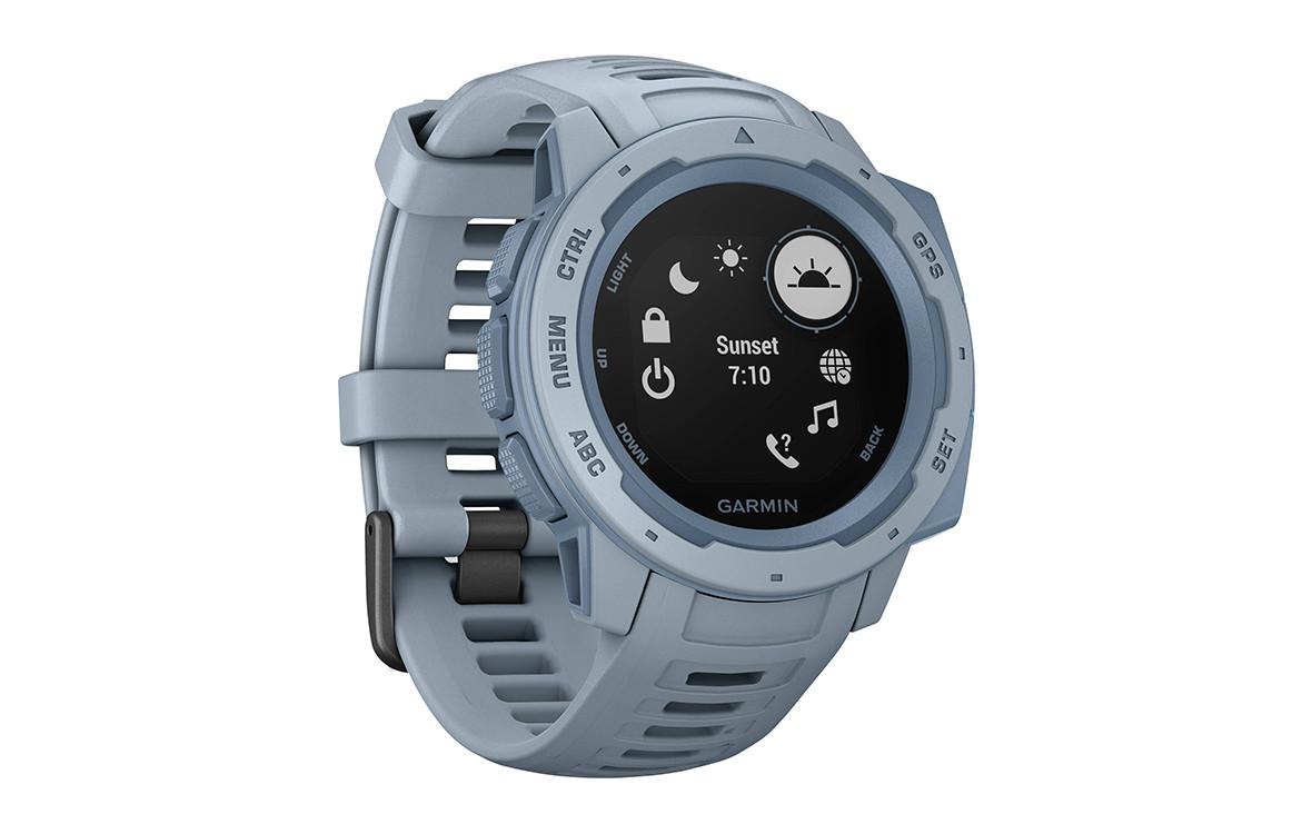 Đồng hồ thông minh Garmin Instinct, GPS, Seafoam_010-02064-64-2