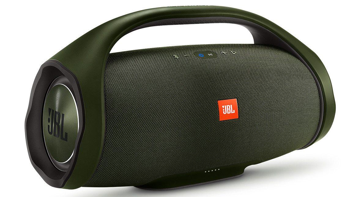 Loa Bluetooth JBL Boombox (Green) khả năng chống thấm nước tốt