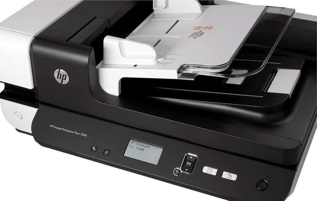 Máy scan HP Scanjet Ent Flow 7500 Flatbed Scanner - L2725B -2