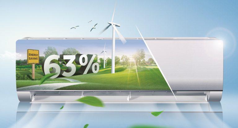 công nghệ inverter trên điều hòa, máy lạnh tiết kiệm điện năng tiêu thụ giúp người sử dụng tiết kiệm chi phí hàng tháng