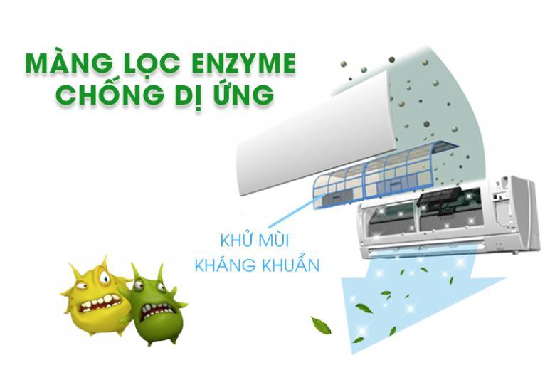 Máy lạnh - điều hòa Mitsubishi 2 HP SRK/SRC18CS-S5 màng lọc khuẩn hiện đại đem tới không gian thoáng mát