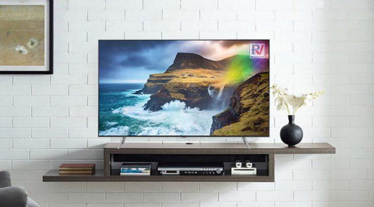 Smart Tivi QLED Samsung 4K 55 inch QA55Q65RAKXXV thiết kế sang trọng phù hợp với mọi không gian