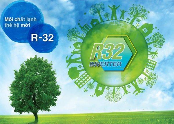 Máy lạnh - điều hòa LG Inverter 2.5 HP V24ENF sử dụng gas R32 cực kỳ an toàn cho người sử dụng
