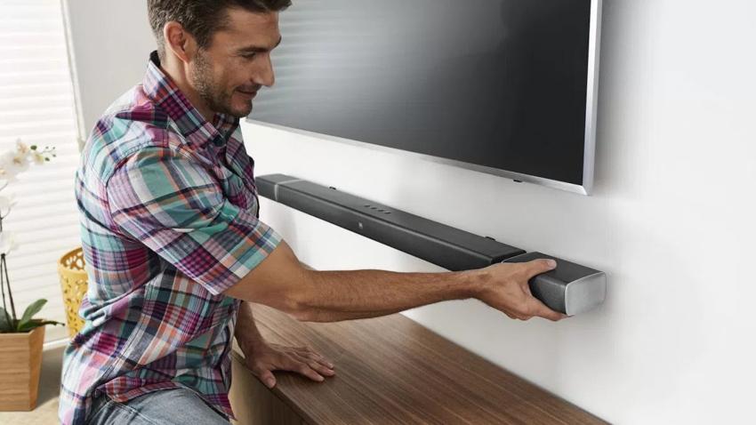 Loa Bluetooth JBL Bar 5.1 (Black) đem tới âm thanh sống động như đang ở rạp chiếu phim