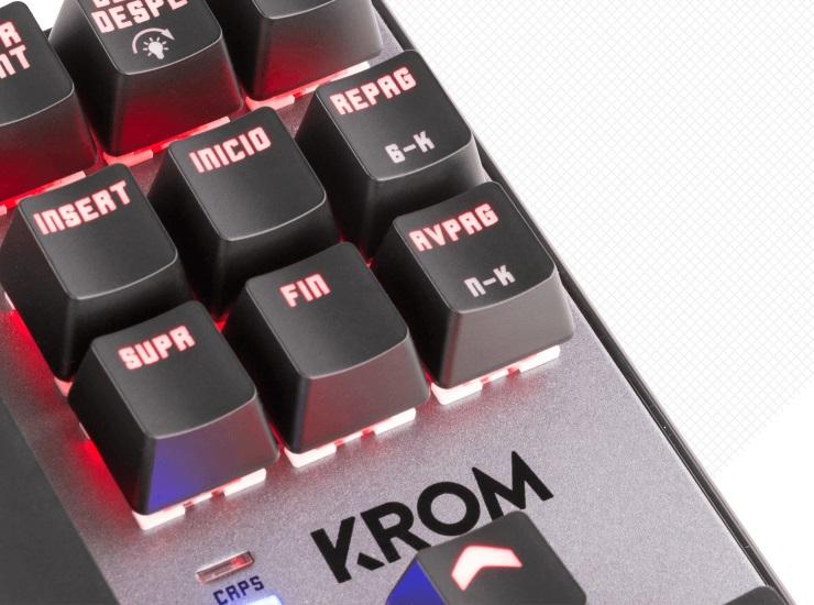 Bàn phím cơ Krom Kernel TKL