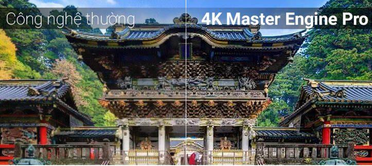 4K Master Engine Pro đem tới chất lượng hình ảnh tuyệt vời vô cùng sắc nét