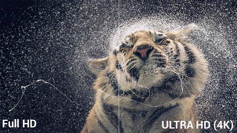 độ phân giải UHD 4K đem tới hình ảnh sắc nét vô cùng đẹp mắt