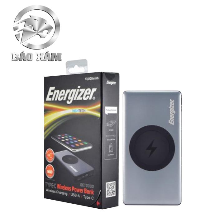 Pin sạc dự phòng EnergizerQE10000GY 10.000mAh 3.7V Li-Polymer (Xám)