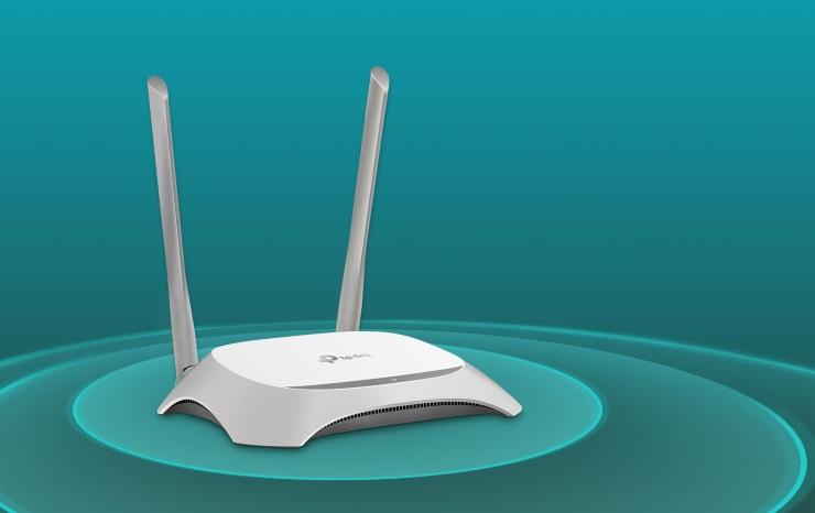 Router wifi TPLink TL-WR840NChuẩn N tốc độ 300Mbps
