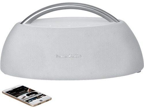 Loa Bluetooth Harman/Kardon Go+Play Mini (White) trang bị pin cao cáp thời gian sử dụng lâu