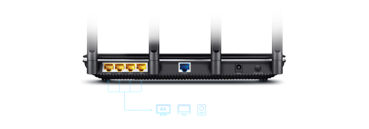 Router Wifi TPLink Archer C2600