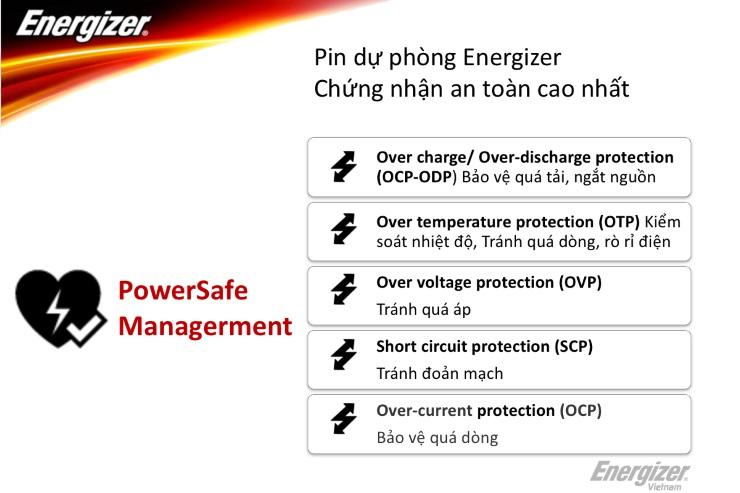 Pin sạc dự phòng Energizer 10.000mAh - UE10009