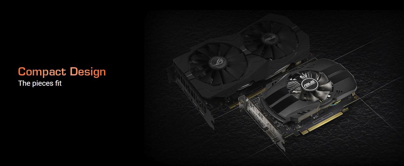 ASUS GeForce GTX 1650 4GB GDDR5 Phoenix