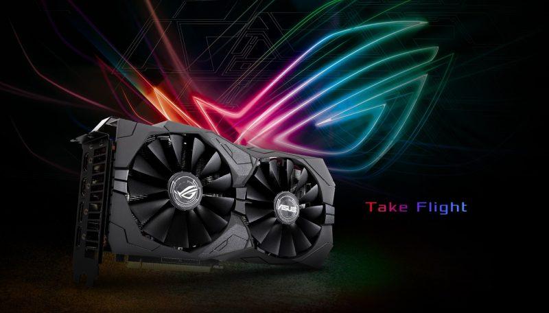 ASUS GeForce GTX 1650 4GB GDDR5 ROG Strix