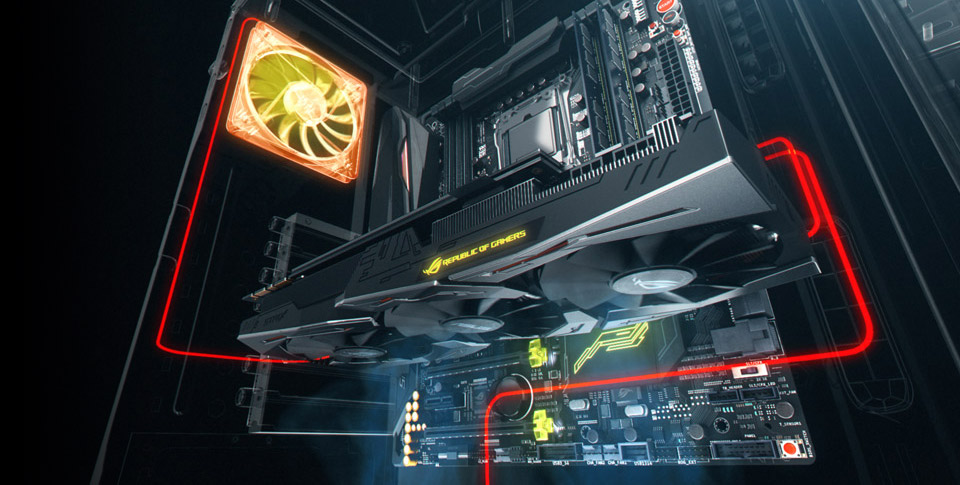 ASUS GeForce GTX 1660Ti 6GB GDDR6 ROG Strix