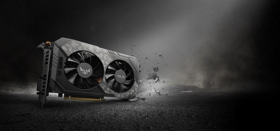 ASUS GeForce GTX 1660Ti 6GB GDDR6 TUF