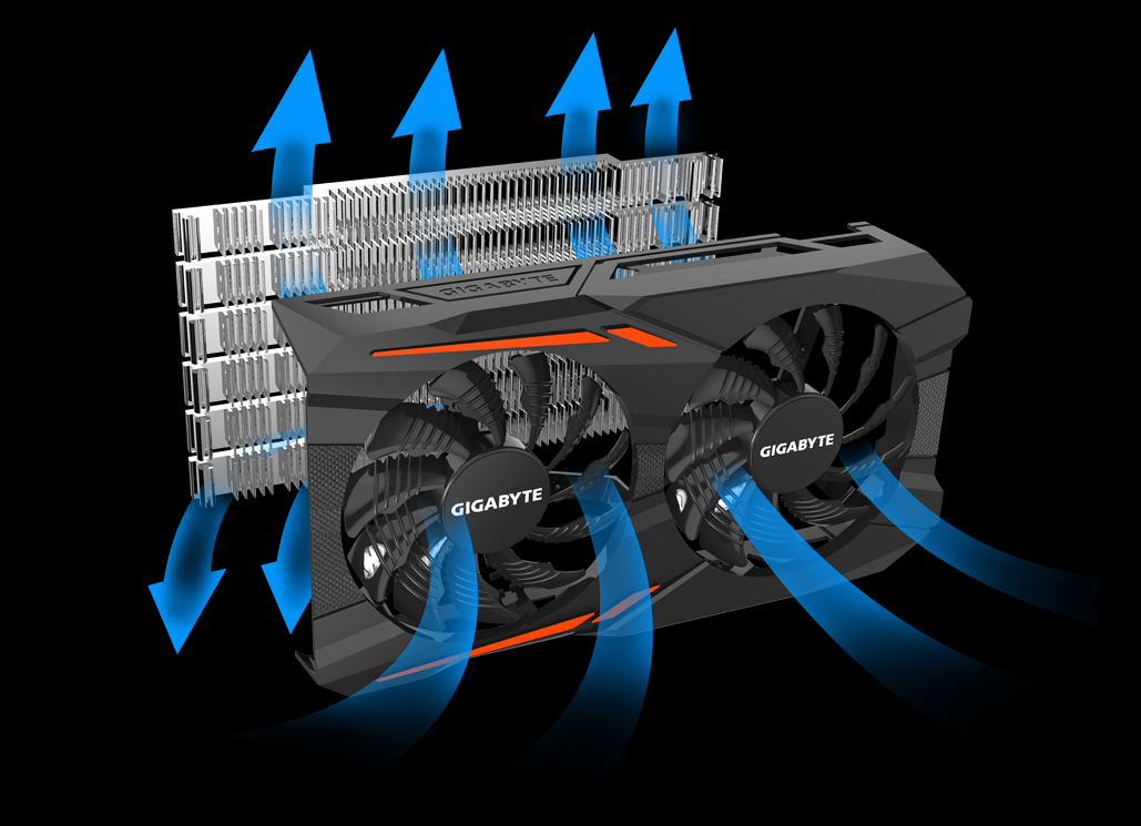 GIGABYTE GeForce GTX 1050 3GB GDDR5 OC