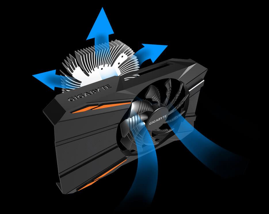 GIGABYTE GeForce GTX 1050 3GB GDDR5