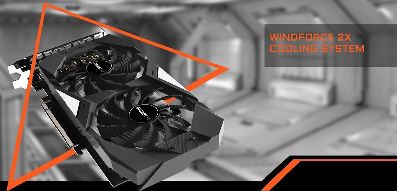 GIGABYTE GeForce GTX 1650 4GB GDDR5 WindForce OC