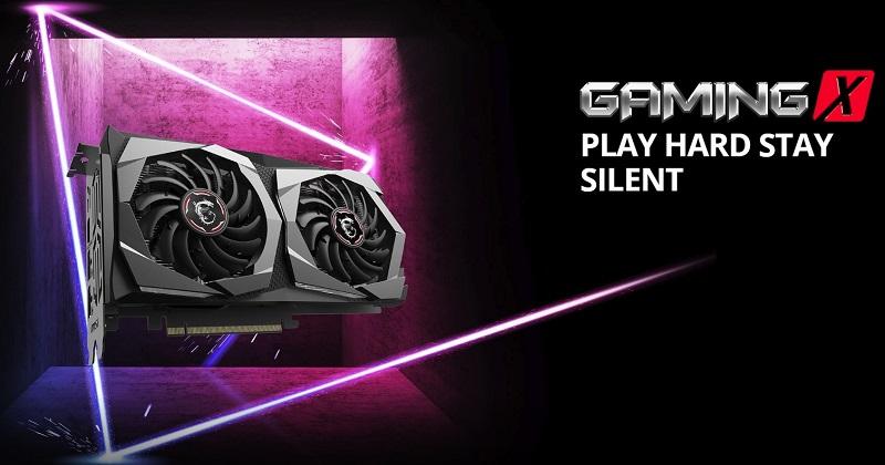 MSI GeForce GTX 1650 4GB GDDR5 Gaming X