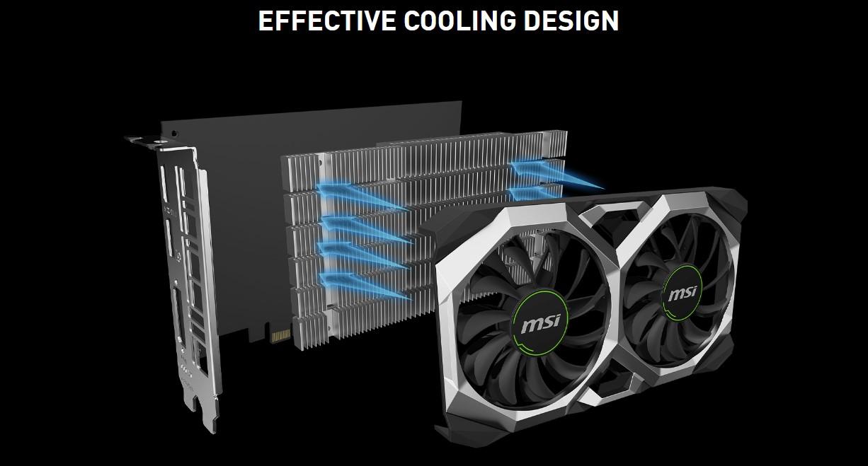 MSI GeForce GTX 1650 4GB GDDR5 VENTUS XS OC