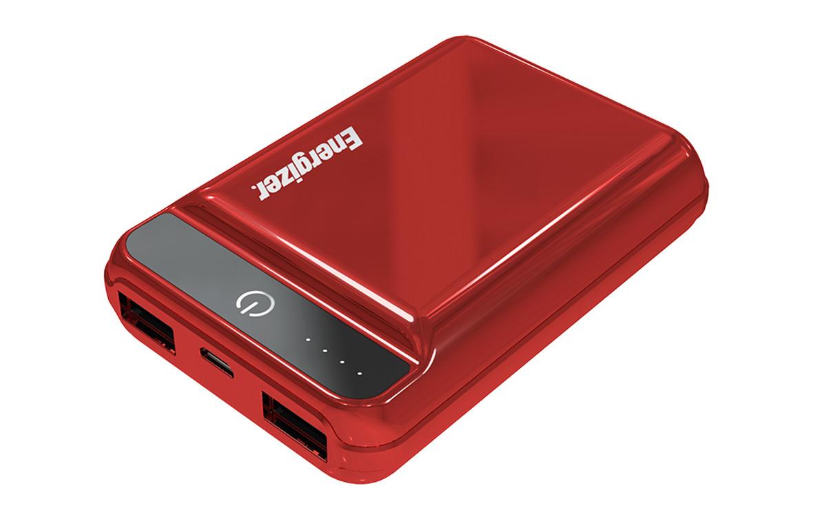 Pin sạc dự phòng Energizer 10.000mAh -3.7V Li-Polymer - UE10032PR (Đỏ)-1