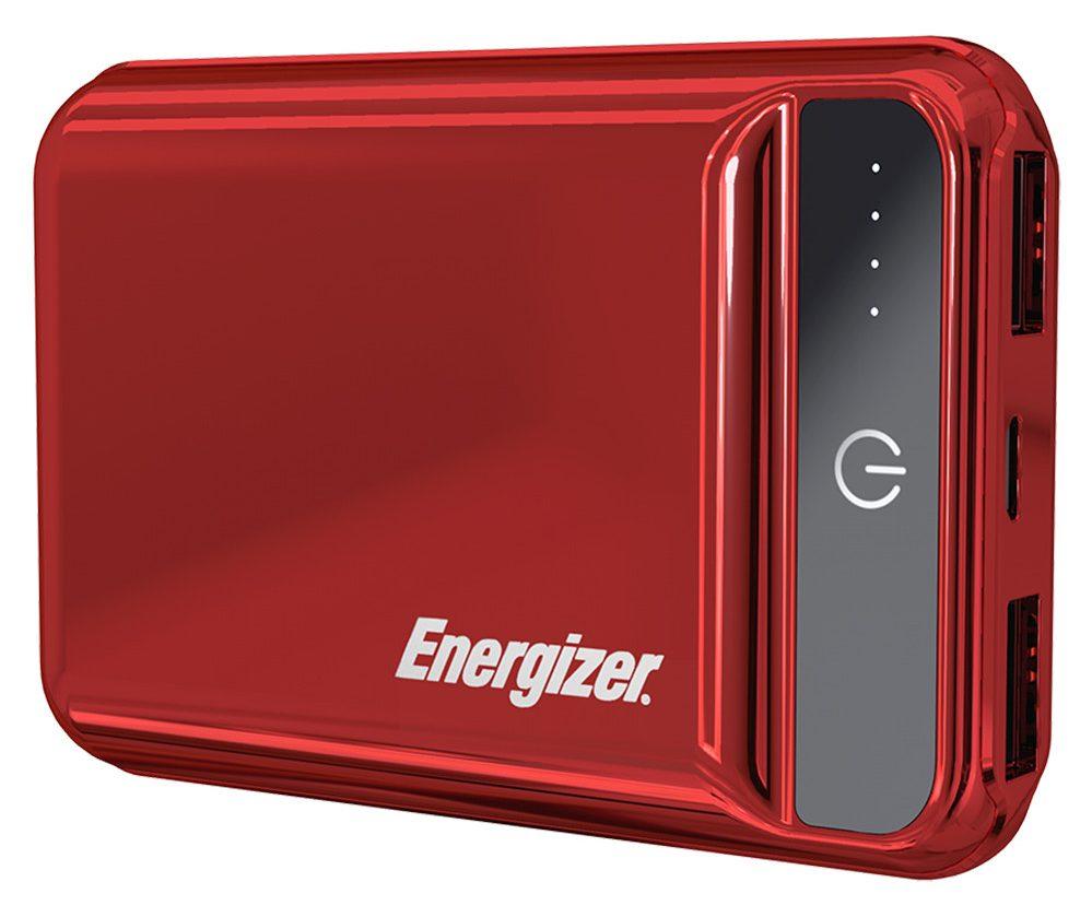 Pin sạc dự phòng Energizer 10.000mAh -3.7V Li-Polymer - UE10032PR (Đỏ)