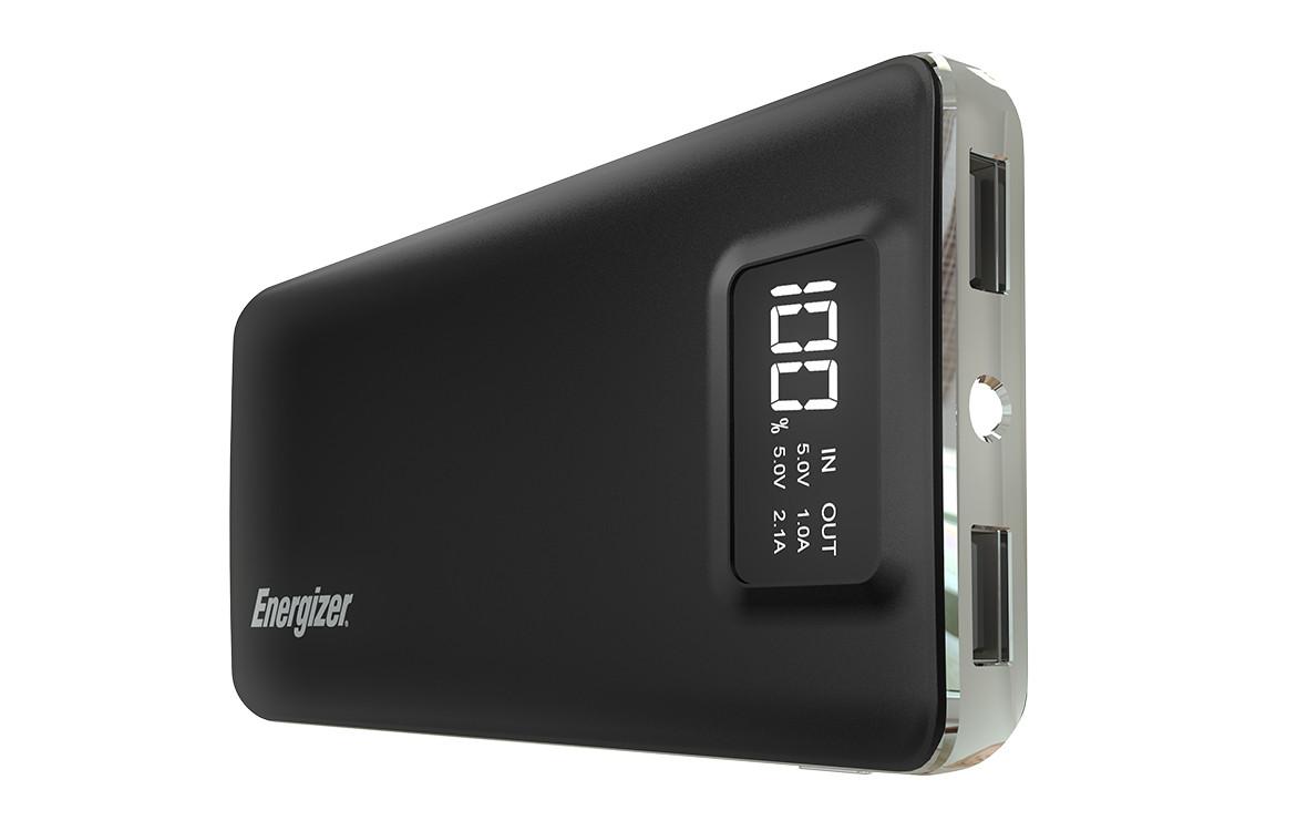 Pin sạc dự phòng Energizer 10.000mAh - UE10018BK (Đen)-1