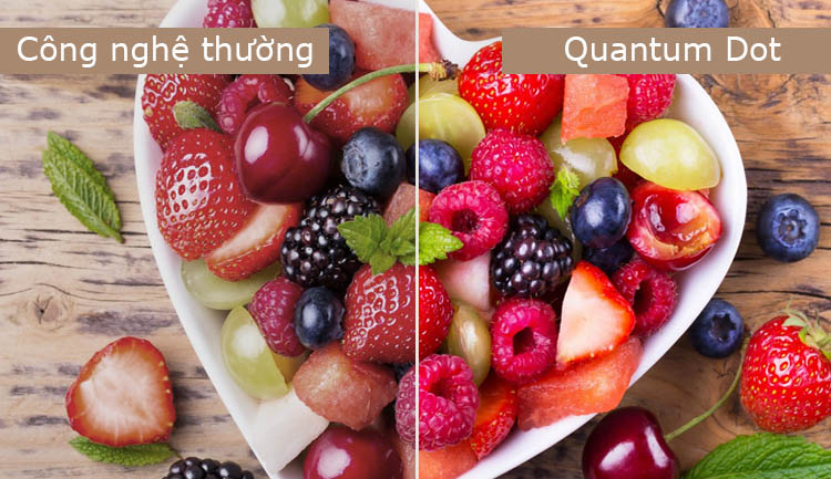 Quantum Dot đem tới hình ảnh sắc nét chân thực