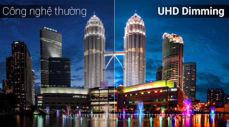 UHD Dimming giúp tái tạo hình ảnh tốt nhất