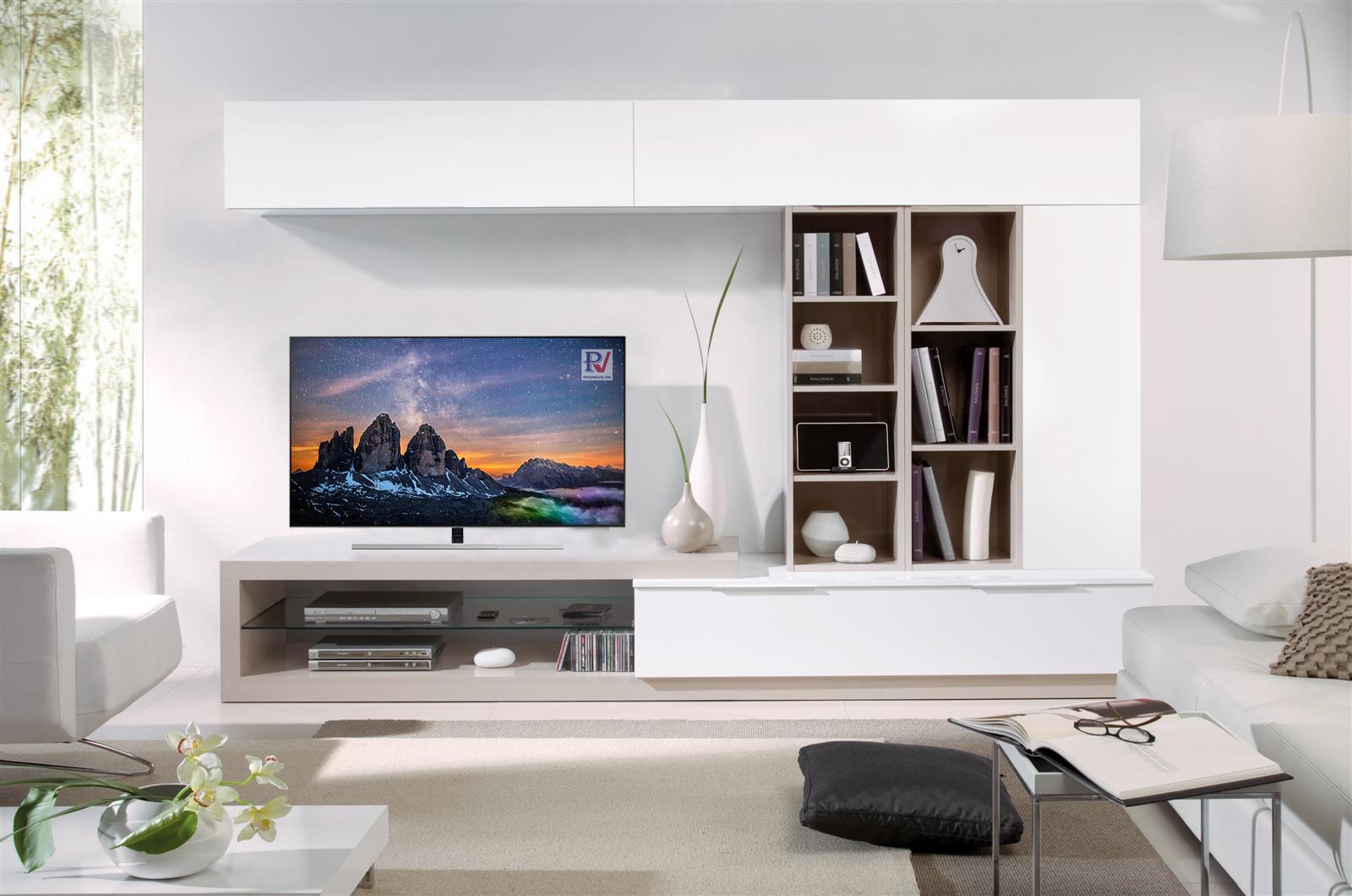 Smart Tivi QLED Samsung 4K 55 inch QA55Q80RAKXXV thiết kế đẹp mắt vô cùng sang trọng